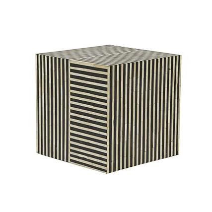Taj Bone Cube Side Table Make Your House A Home Bendigo