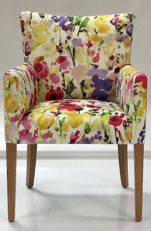 Loren Chintz Arm Chair