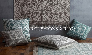 Floor Cushions + Rugs