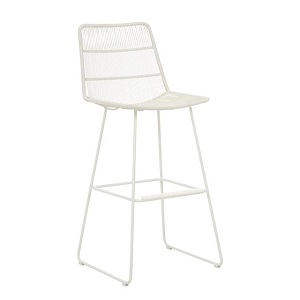 Granada Sleigh Outdoor Bar Stool