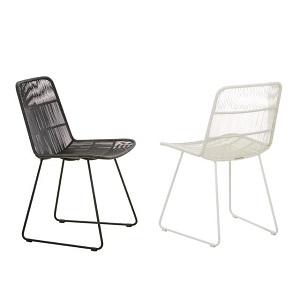 Granada Sleigh Outdoor Dining Chairs