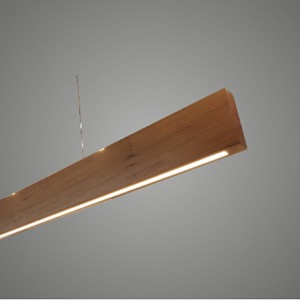 SOLID Suspended Timber Linear Pendant