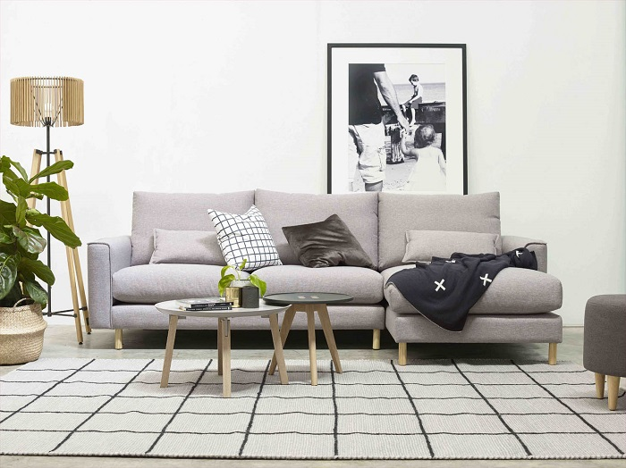 Molmic Alpine sofa with chaise - Make Your House a Home, Bendigo ...