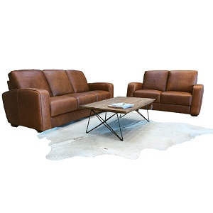 Italian Made Leather Sofa