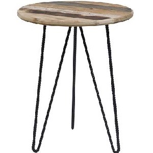 aspen ridge round side table