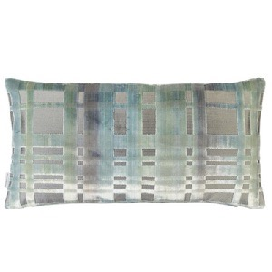 Colonnade Duck Egg Cushion by Designers Guild