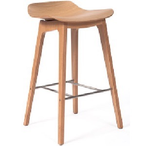 Oslo low back bar stool