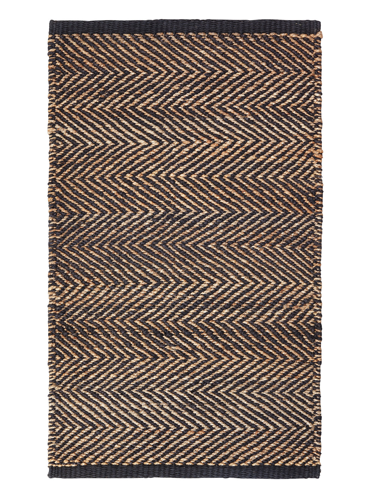 Serengeti Weave Mat - Charcoal & Natural