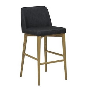 Rosie Bar Stool - Slate Grey
