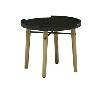 Sketch Meta Low Table - Black/Light Oak
