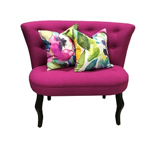 Jasmine Seat (Dolly Fabric)