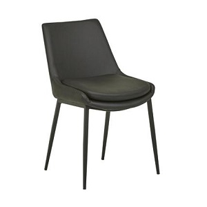 Pepper Dining Chair - Black PU