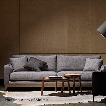 Barker Sofa - VANISH fabric