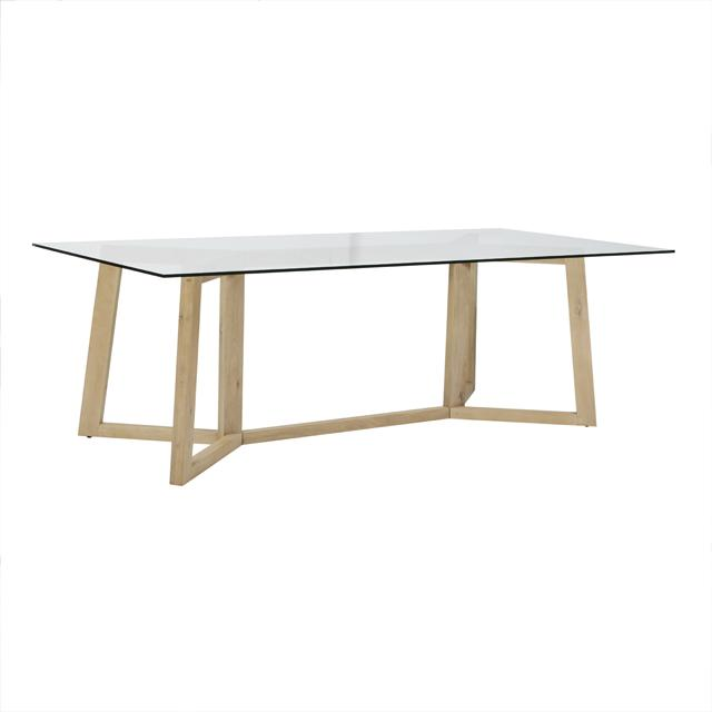 Geo Dining Table - natural oak