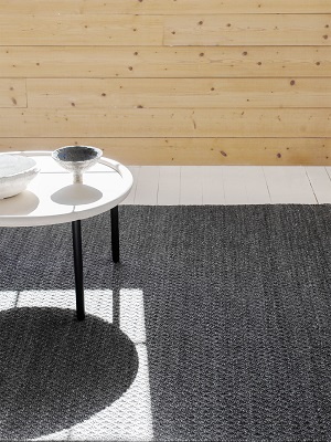 Sherpa Rug - Charcoal by Armadillo