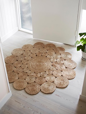 Camellia Rug - Natural by Armadillo