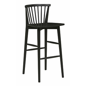 Sketch Requin Barstool - Charcoal