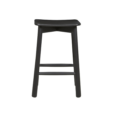 Sketch Root Barstool - Black Onyx