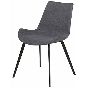 Cleo Dining Chair - Gunmetal