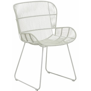 Granada Butterfly Dining Chair - Light Grey