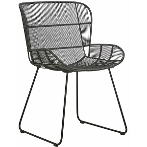 Granada Butterfly Dining Chair - Licorice