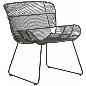 Granada Butterfly Occasional Chair - Licorice