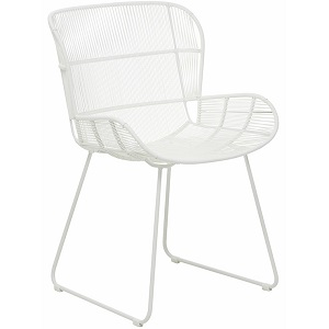 Granada Butterfly Dining Chair - White