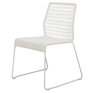 Granada Twist Dining Chair - White