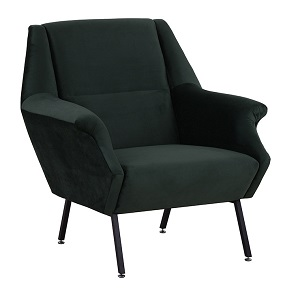 Kennedy Geo Occasional Chair - Jungle Green