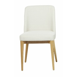 Rosie Timber Leg Dining Chair - Natural