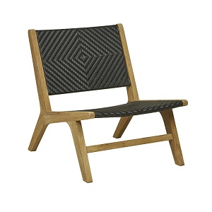 Sonoma Woven Occasional Chair - Black