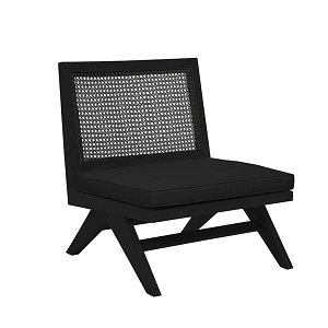 Willow Kali Occasional Chair - Ebony