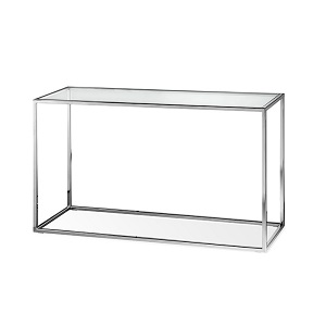Elle Cube Console 180cm - Stainless Steel