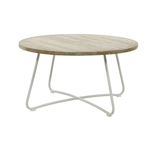Granada Tango Coffee Table - Silver Age & White