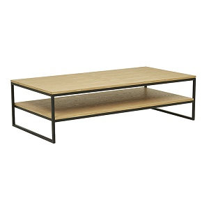 Baxter Shelf Coffee Table - Natural Ash
