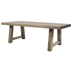 Granada Dining Table (240cm) - Silver Age