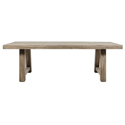 Granada Dining Table (300cm) - Silver Age