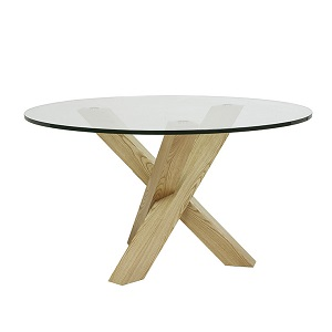 Hudson Round Dining Table - Natual Ash