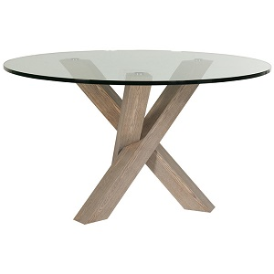 Hudson Round Dining Table - Grey Ash