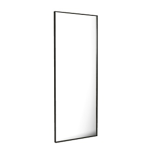 Elle Floor Mirror - Black