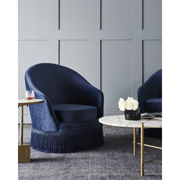 Kennedy Fringed Sofa Chair