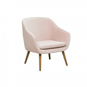 Kennedy Tub Sofa Chair - Soft Blush