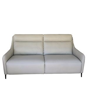 F006 3 Seater Leather Sofa by Milano and Design