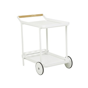 Lagoon Bar Trolley - White