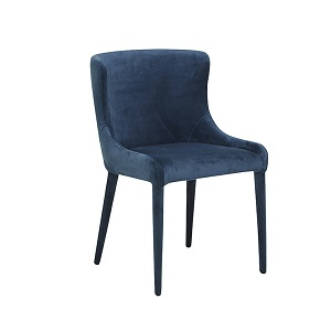 Claudia Dining Chair - Navy Velvet