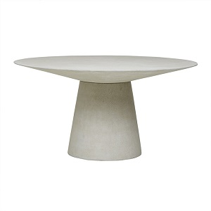 Livorno Round Dining Table 120D - Grey Speckle
