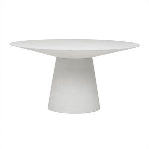Livorno Round Dining Table 120D - White Speckle