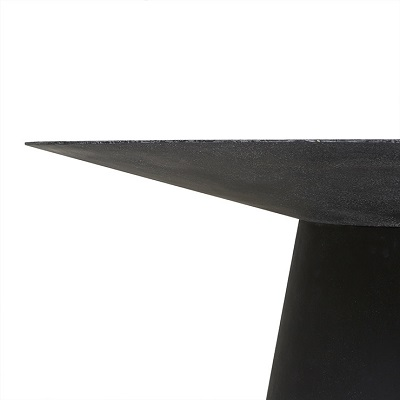 Livorno Round Dining Table 150D - Black Speckle
