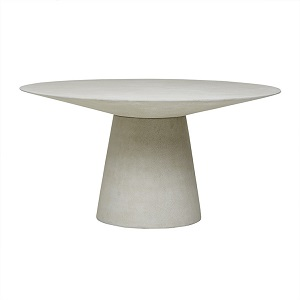 Livorno Round Dining Table 150D - Grey Speckle