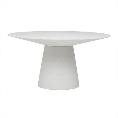 Livorno Round Dining Table 150D - White Speckle